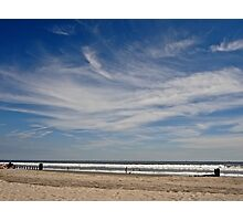 ocean and sky Photographic Print
