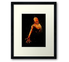 Burn Framed Print