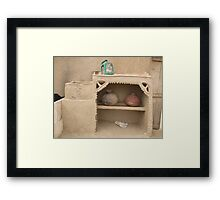 Rural area home interier 4 Framed Print