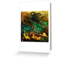 modern composition 21 by rafi talby Greeting Card