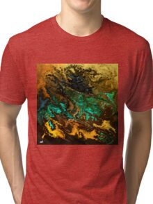 modern composition 21 by rafi talby Tri-blend T-Shirt