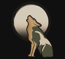 Wolf Link Moon (Twilight Princess) by Link270