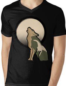 Wolf Link Moon (Twilight Princess) Mens V-Neck T-Shirt
