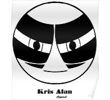 KA 2 Black Poster
