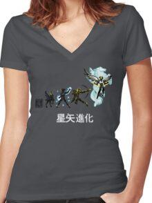 Seiya Evolution Women's Fitted V-Neck T-Shirt