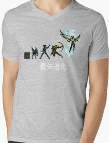 Seiya Evolution Mens V-Neck T-Shirt
