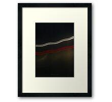 Idea + Light + Time = Art F Framed Print