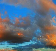 ©HCS The Orange Glow In Cumulus II by OmarHernandez