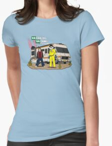 Breaking Back to the Future Womens Fitted T-Shirt