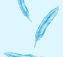 Falling Feathers by Tamika Britt