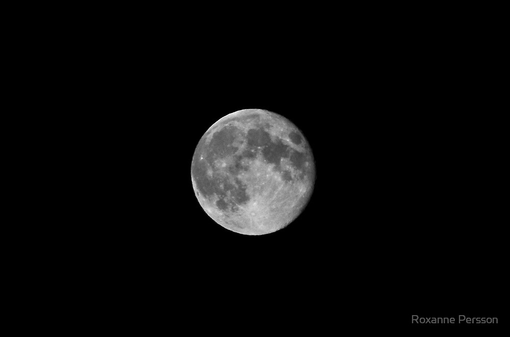 The Moon by Roxanne Persson