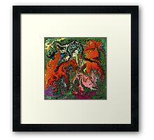 modern composition 22 by rafi talby Framed Print