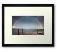A Bridge Across The Sky Framed Print