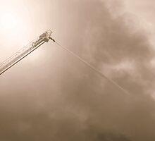 Fire - Dawson Creek B.C by Natasha Litia