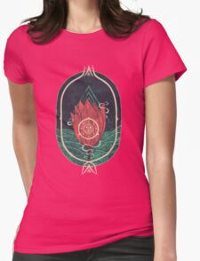 Pulsatilla Patens Womens Fitted T-Shirt