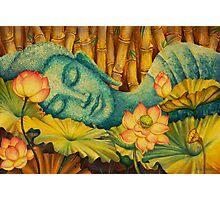 Reclining Buddha Photographic Print