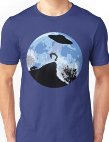 Alien Abduction! The Helpless Witness... Unisex T-Shirt