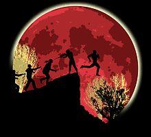Zombies! Run you fool... by KAMonkey
