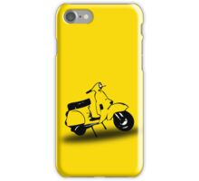 yellow vespa px  iPhone Case/Skin