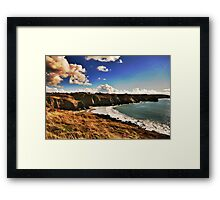 Crystal Coast Framed Print