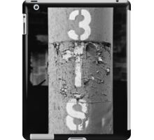 3IS black and white iPad Case/Skin