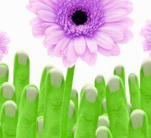 Green Shoots Sticker