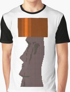 Moai Head Graphic T-Shirt