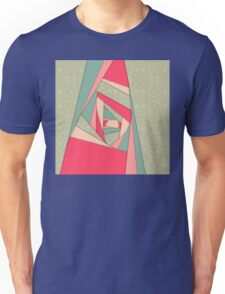 Colorful Layers Collage Unisex T-Shirt