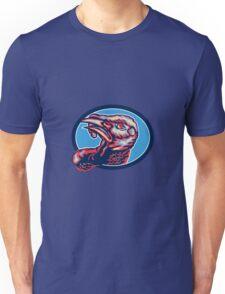 Wild Turkey Head Retro Unisex T-Shirt