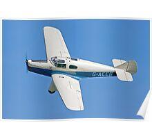 Miles M-3A Falcon Major G-AEEG Poster