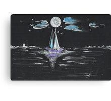 Night Fishing Canvas Print