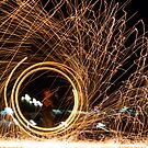 Lightpainting #3 by Peter Gray