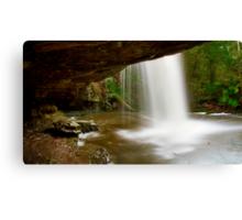 """Under The Falls"" Canvas Print"