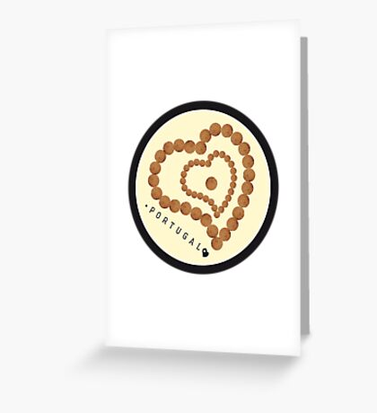 Symbols of Portugal - Cork Greeting Card
