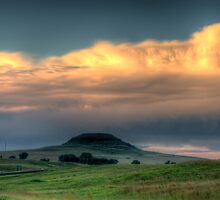 A Bump On The Landscape by Clive S