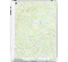 USGS TOPO Map New Hampshire NH Baxter Lake 20120608 TM iPad Case/Skin