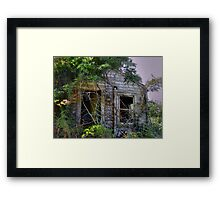 Where Is Your House? Framed Print