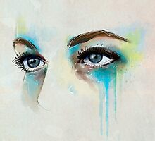 Watercolor eyes  by lunaticpark