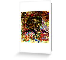 modern composition 25 by rafi talby Greeting Card