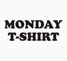 Monday t-shirt Kids Tee