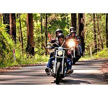Bike Run Photographic Print