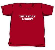 Thursday t-shirt Kids Tee