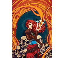Fire Witch Photographic Print