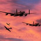 Bomber Escort - Dawn Raid by J Biggadike