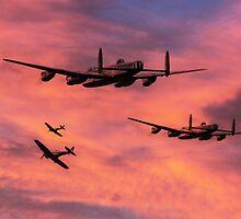 Bomber Escort - Dawn Raid by J Biggadike