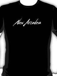 New Arcades - Logo (white text) T-Shirt