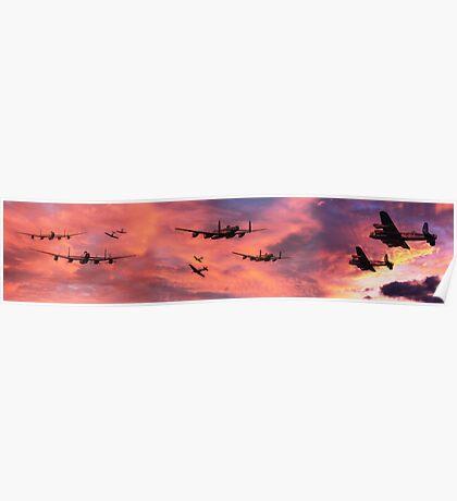 The Royal Air Force - Dawn Raid Poster