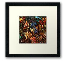 modern composition 26 by rafi talby Framed Print