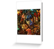 modern composition 26 by rafi talby Greeting Card