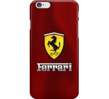 Ferrari Logo iPhone Case/Skin